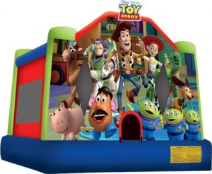 Image result for Toy story bouncer inflataBLE