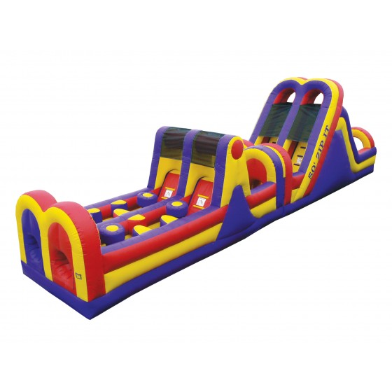 Zip It Obstacle Course