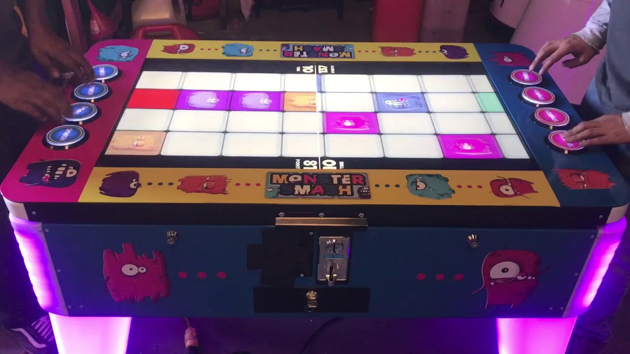 monster smash arcade game